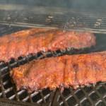Pork Ribs Smoking